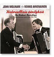 John Molinari : Veikko Ahvenainen : The Historic Recordings